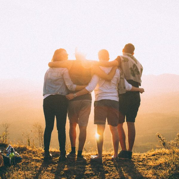 Reconnecting with friends is healing