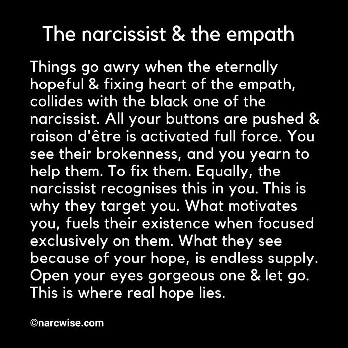What happens when the narcissist knows you've figured them out