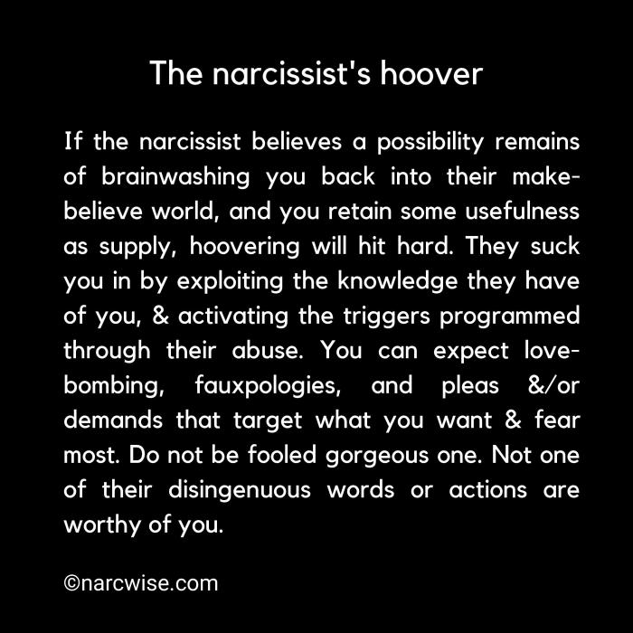 Proof the narcissist abuses you intentionally and will never