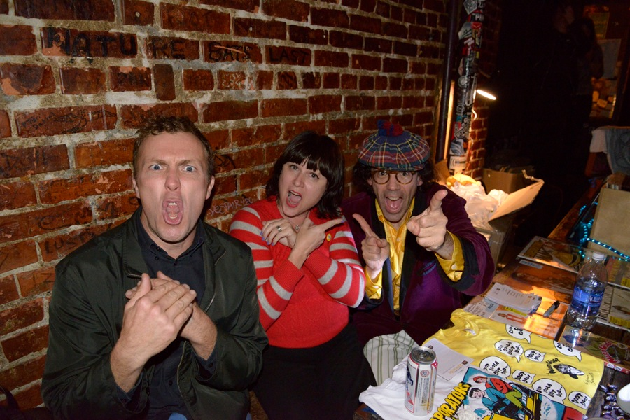Nick, Julie, Nardwuar !