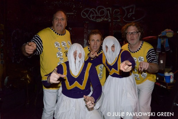The Evaporators meet Thee Goblins!