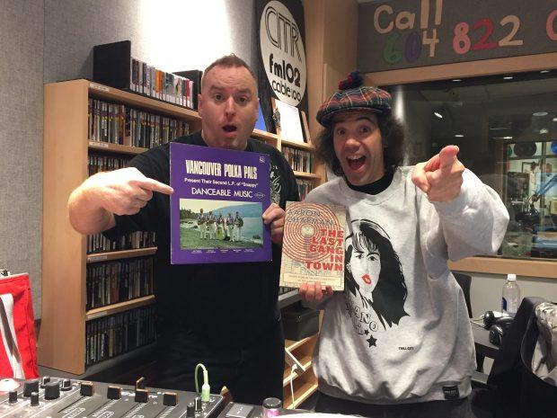 Aaron Chapman, Nardwuar ! CiTR DJ Booth, Vancouver BC Canada!