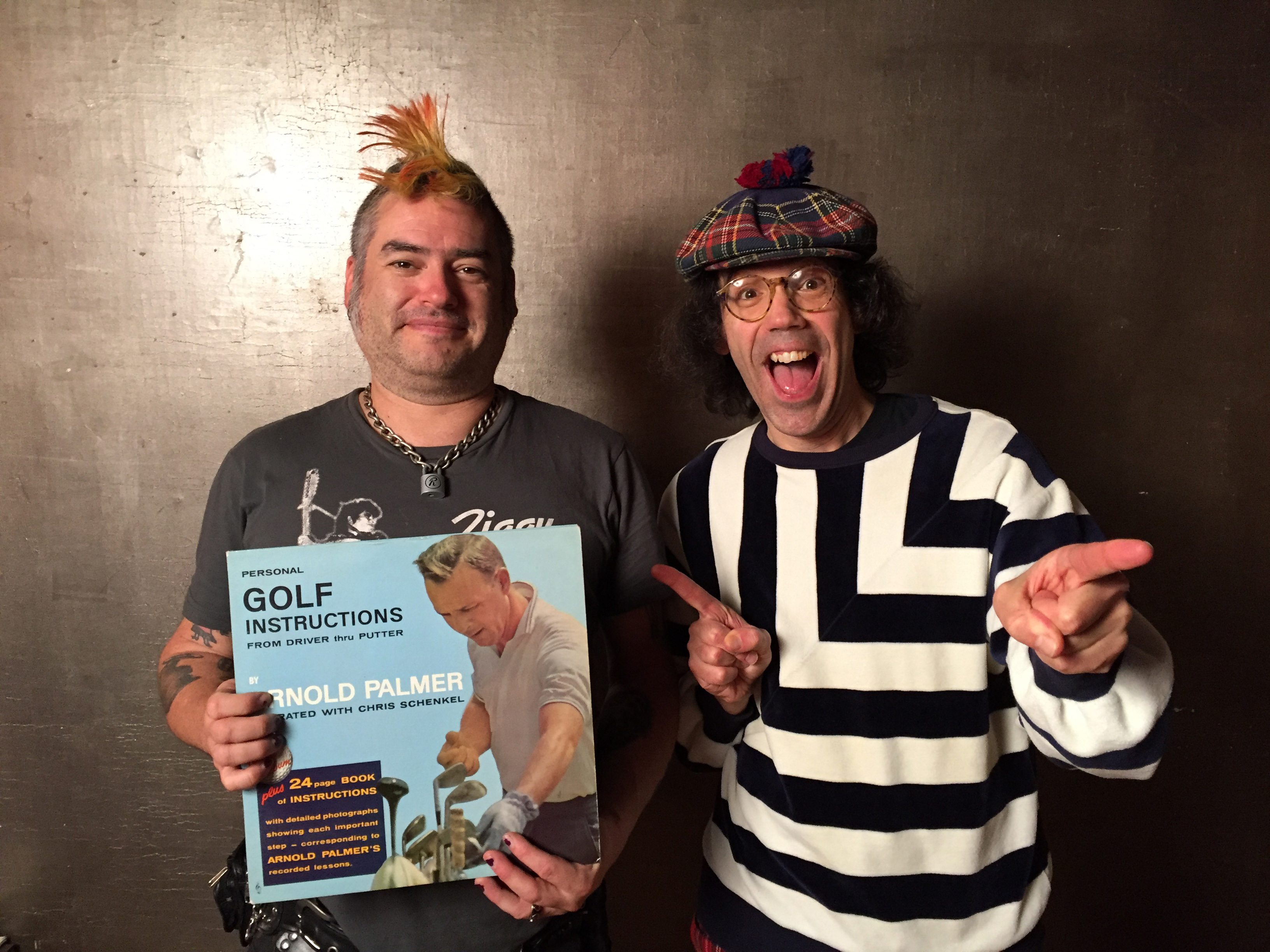 Fat Mike, Nardwuar ! Vancouver, BC Canada!