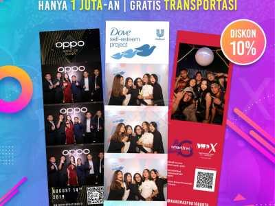 Jasa PhotoBooth Murah di Jakarta - Gratis Boomerang - Hanya 1 Jutaan - NAREMAX PhotoBooth Rev