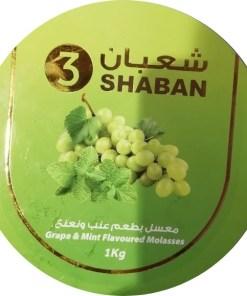 SHABAN 3 TOBACCO (GRAPE MINT)