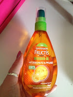 *Werbung* Garnier Fructis Schaden Löscher Wunder-Öl Hitzeschutz 1
