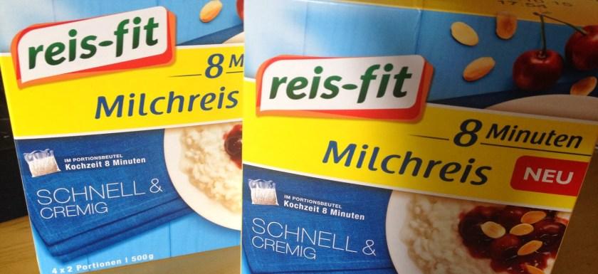 *Werbung* Reis-Fit 8 Minuten Milchreis im Test 1
