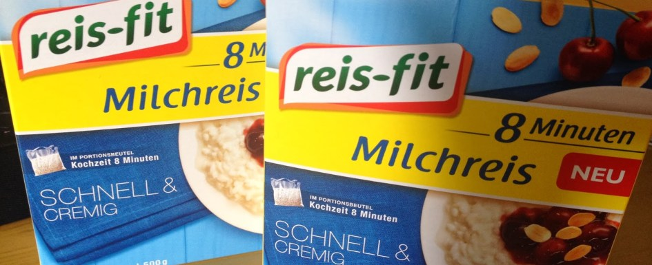 *Werbung* Reis-Fit 8 Minuten Milchreis im Test 38