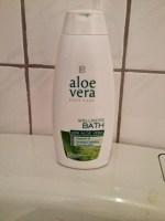 *Werbung* LR Aloe Vera Wellness-Bad Produkttest 2