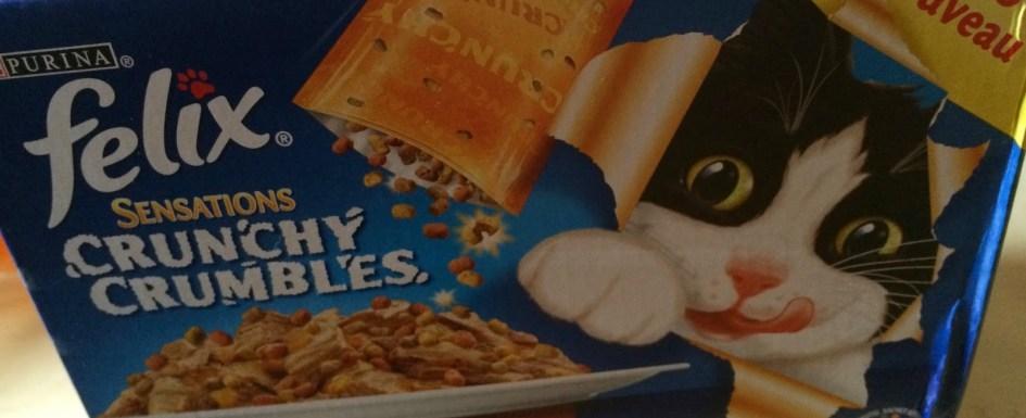 *Werbung* Produkttest Felix Sensations Crunchy Crumbles 1