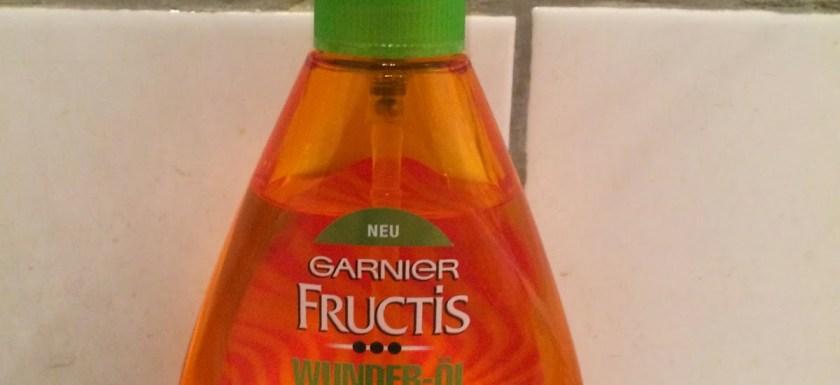 *Werbung* Produkttest Garnier Fructis Wunder- Öl & Schadenlöscher Shampoo 6