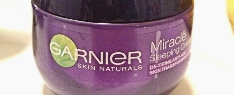 *Werbung* Produkttest Garnier Miracle Sleeping Cream 8