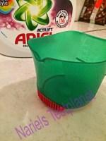 *Werbung* Produkttest Ariel Flüssigwaschmittel mit Fleck-weg Kappe 2