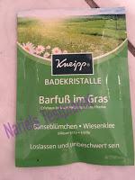 """*Werbung* Produkttest Kneipp Aroma-Pflegedusche """"Schönheitsritual"""" & Kneipp Badekristalle """"Barfuß im Gras"""" 3"""