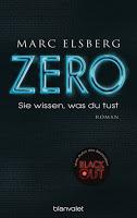 Rezension Marc Elsberg: ZERO. Sie wissen, was du tust 1