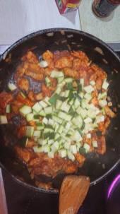 Zucchini hinzufügen