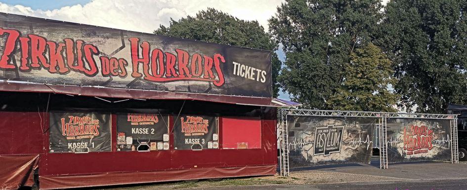Zirkus des Horrors Asylum 2019 in Krefeld *Eventbericht* 2