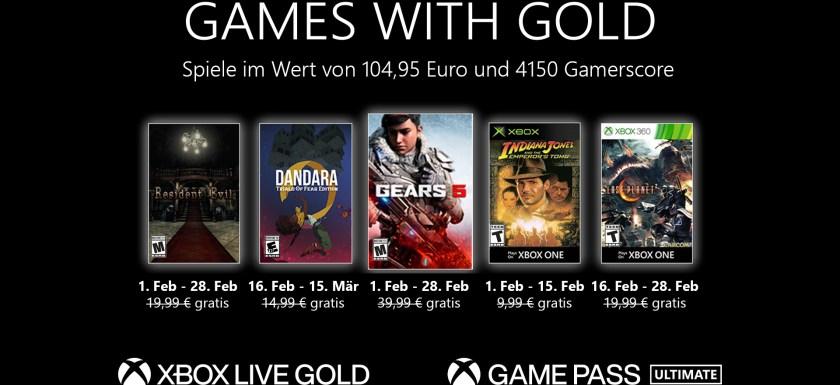 Xbox Games with Gold: Diese Spiele gibt es im Februar gratis 2