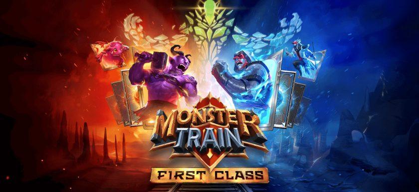 Monster Train First Class KeyArt
