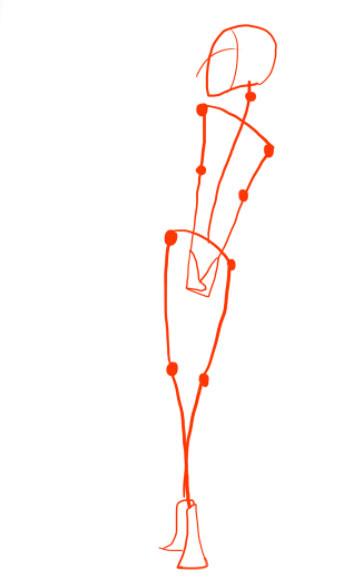 Стилизованная женская фигура рисунок. Урок fashion-иллюстрации. Рисуем  фигуру девушки для fashion-эскиза. Шея и плечи