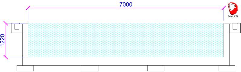 memilih water heater - dimensi kolam