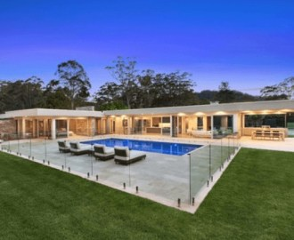 pagar kolam renang