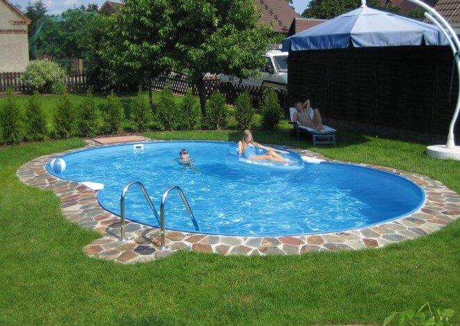 contoh desain kolam renang mini untuk anak