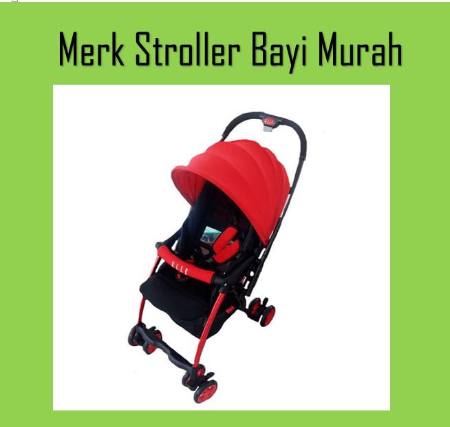 merk stroller bayi murah