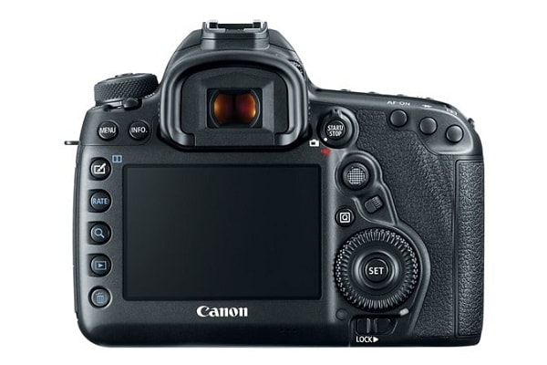 Canon EOS 5D Mark IV Review - camera back side