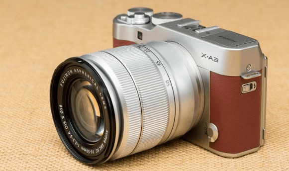 Features of mirrorless camera