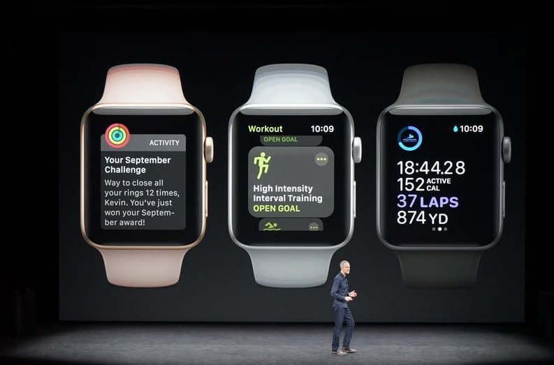Apple Watch Series 3; Watch Launch