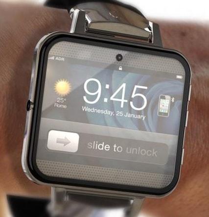 Apple Watch 4 - bezel-less screen