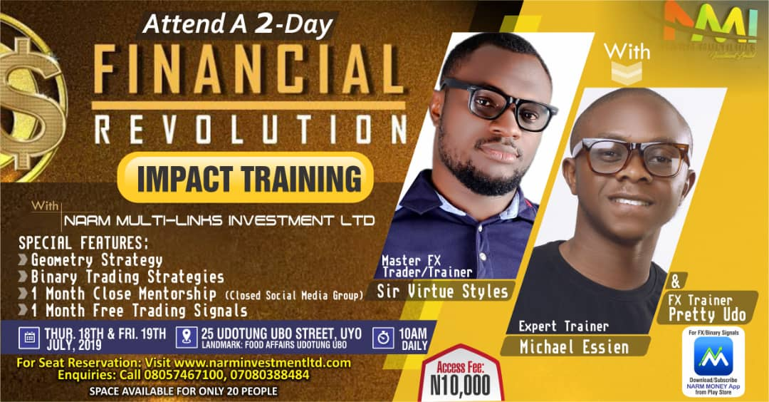 Financial Revolution Training