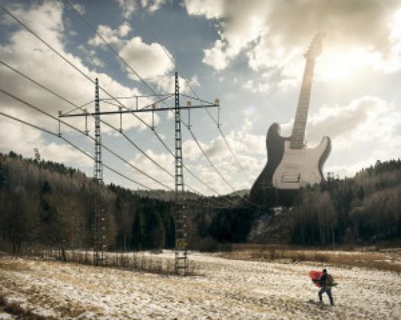 Electric guitar (erikjohanssonphoto.com)