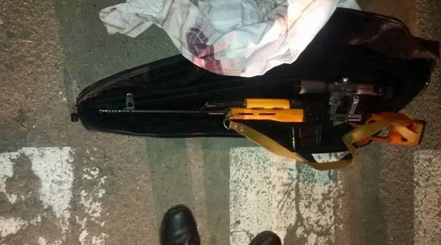 У столиці перехожі знайшли сумку зі снайперськими гвинтівками