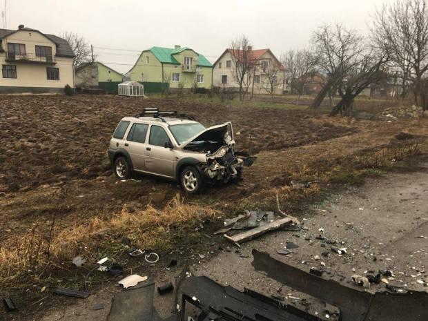 У Львівській області внаслідок ДТП постраждало семеро людей