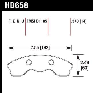 Hawk HB658.570