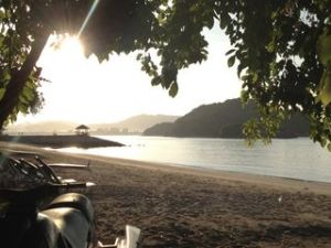 Rebak Island early morning