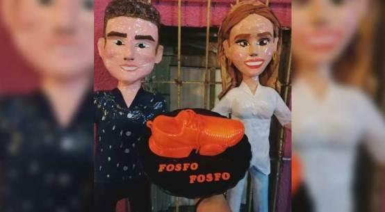 """SAMUEL GARCÍA, SU ESPOSA Y SUS TENIS """"FOSFO"""" EN NUEVA PIÑATA"""