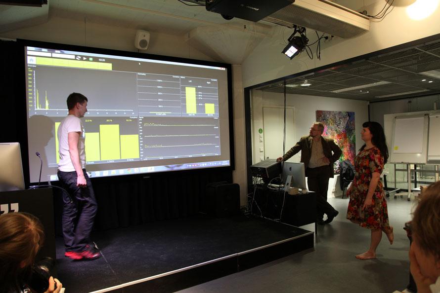 Presentation by Kimmo Pernu from Suunto