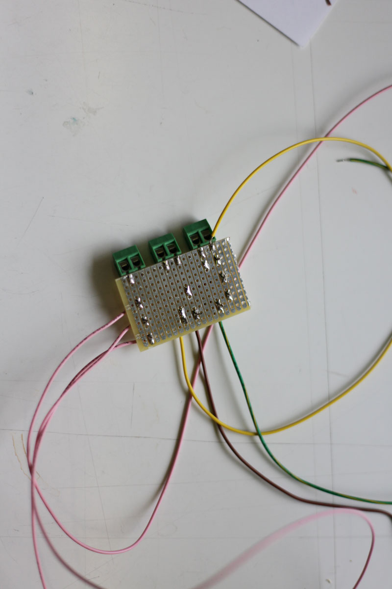 Back of the connector