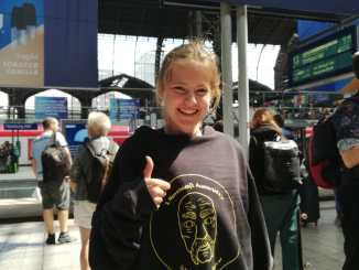 Lissi grüßt aus Hamburg
