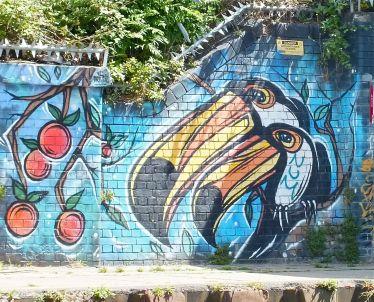 Graffiti 8-Toucans