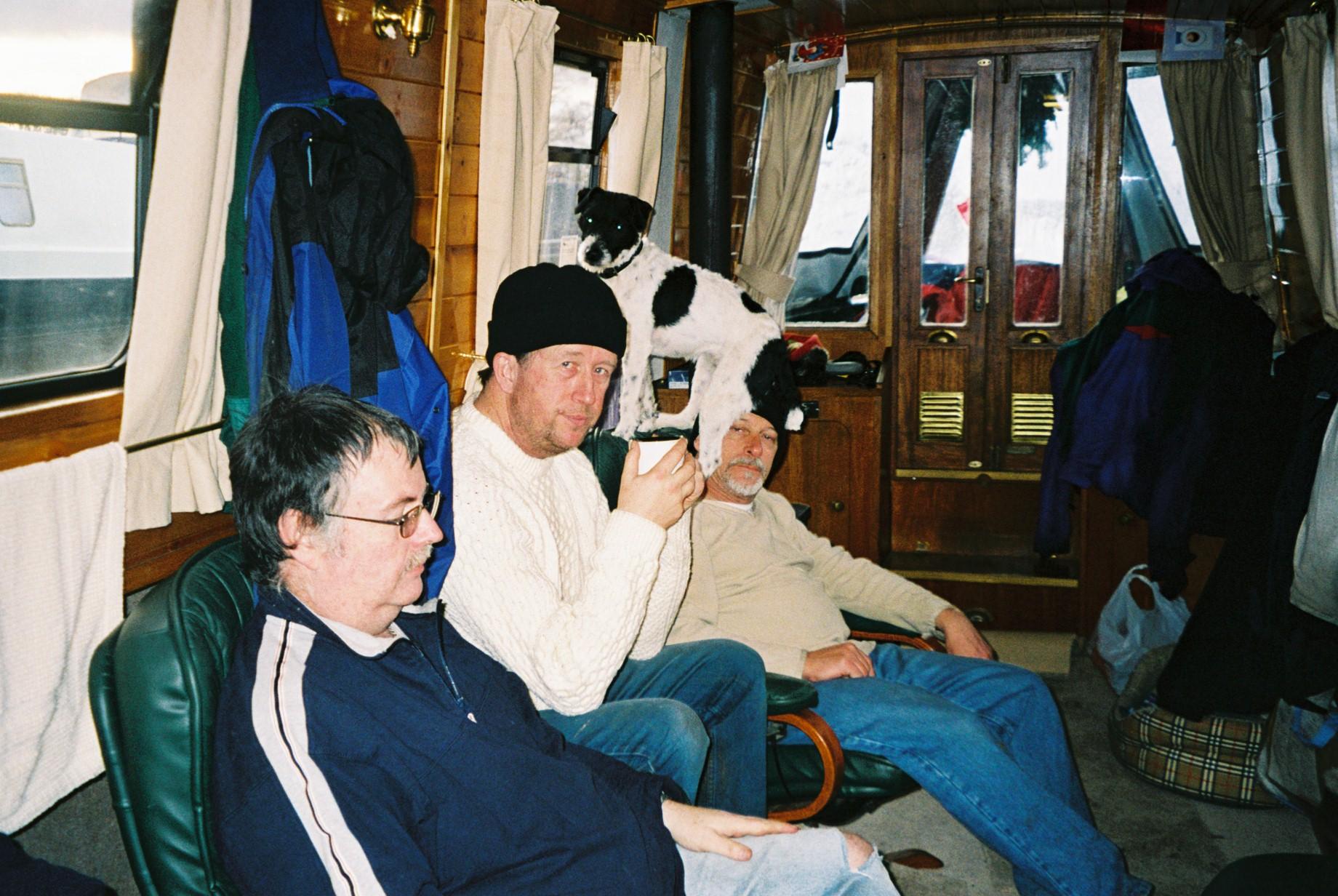 L to R   Grahame, john, garry &jenny
