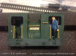 The finished 009 model Sentinel Tram Loco
