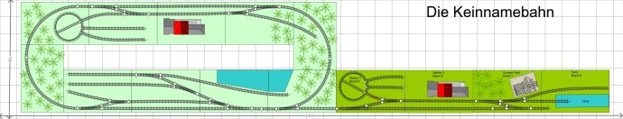 Revised Die Keinnabahn layout