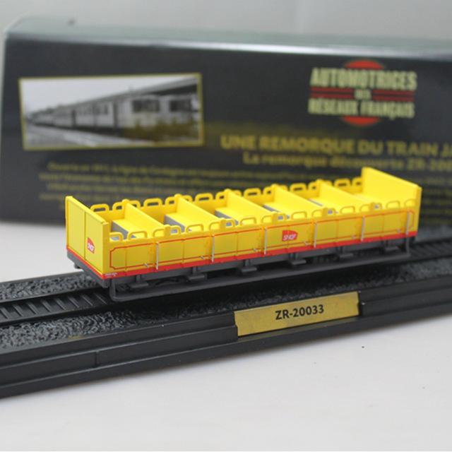 L'Automotrice du Train Jaune Z-105 + 2 Remorques (ZR-20001 and ZR-20033) - 1909