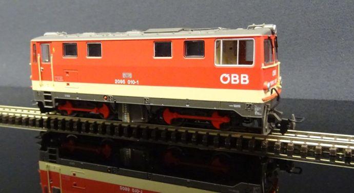 Roco 2095 ÖBB H0e narrow gauge locomotive