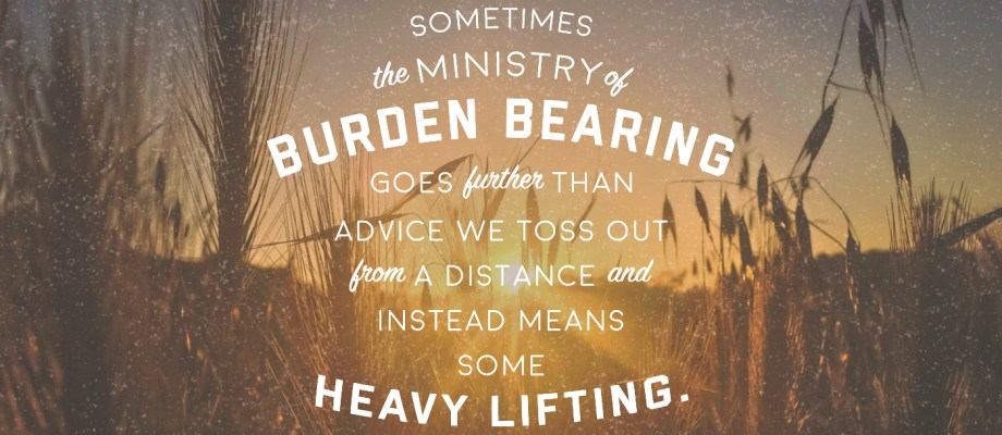 Carry Me to Jesus: When We're the Answer to Someone's Prayers