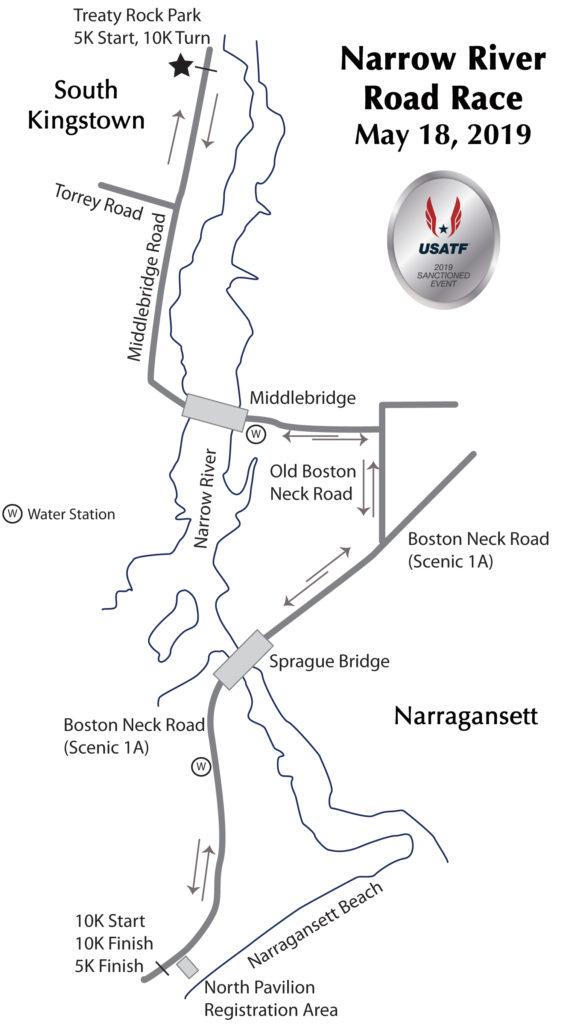 Narrow River Road Race